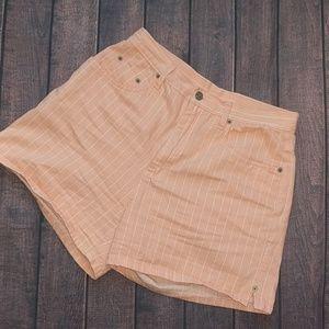 Bill Blass | Vintage High Waist Coral/Peach Shorts